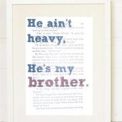 Book Page Print, Hardy Boys